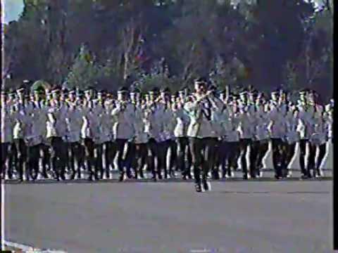 Parada Militar 1992 Chile:Escuela Militar;Naval;Aviación;Escuela de Carabineros de Chile