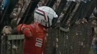 BTCC 1994 - Knockhill - Gabrielli Tarquini rolls