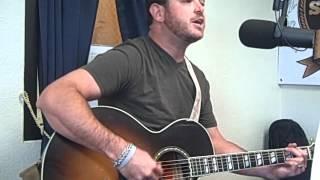 """Wade Bowen singing """"Rita Ballou"""" on 929 Shooter FM"""