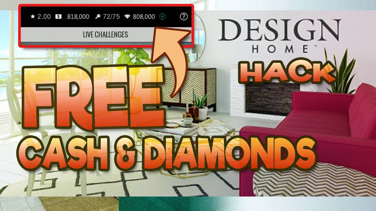 design home cheats free cash and diamonds hack updated youtube