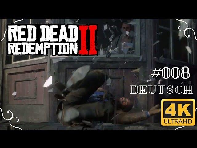 Red Dead Redemption II - #008 - Bud Spencer lässt grüßen [Deutsch, 4k, UHD, PS4Pro]