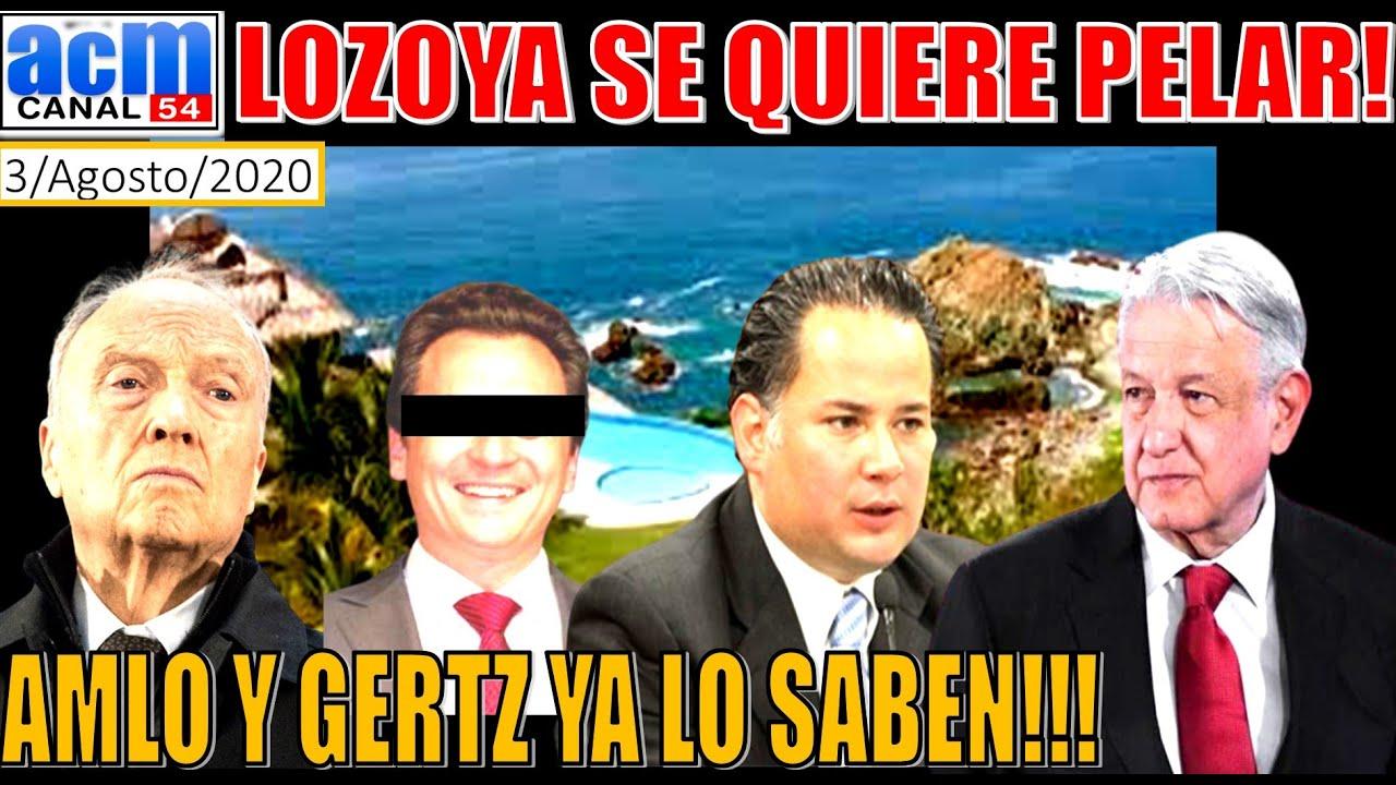 CUIDADO, LOZOYA SE QUIERE IR, ADVIERTE SANTIAGO NIETO A GERTZ Y AMLO!!! PROMUEVE AMPAROS!!!