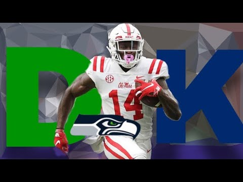 low priced 2bb38 c8c8a The Seattle Seahawks Draft DK Metcalf