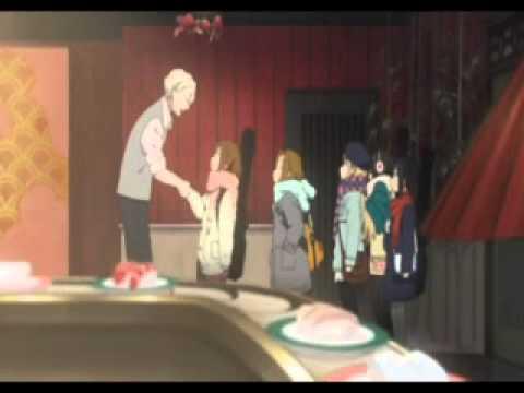 Sushi shop owner (LittleKuriboh) in K-On! movie