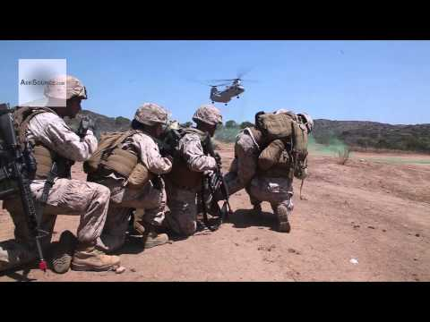 U.S. Marines Casualty Evacuation Exercise
