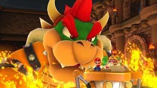 Mario Party 10 - Team Bowser vs. Team Mario - Chaos Castle (2 Player)