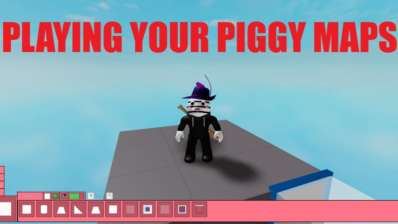 PLAYING YOUR PIGGY MAPS! - Roblox Piggy