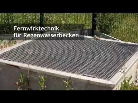 Fernwirktechnik in regenwasserund abwassernetzen