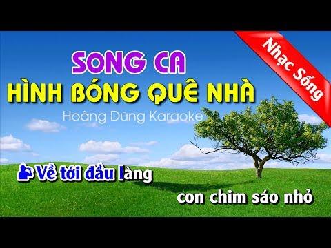 Hình Bóng Quê Nhà Karaoke Nhạc Sống - Hinh bong que nha karaoke song ca