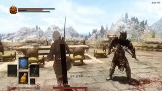 Skyrim Dark Souls Combat Mod