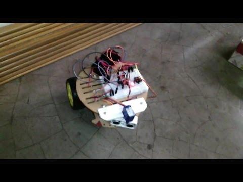 Autonomous Floor Cleaner Robot
