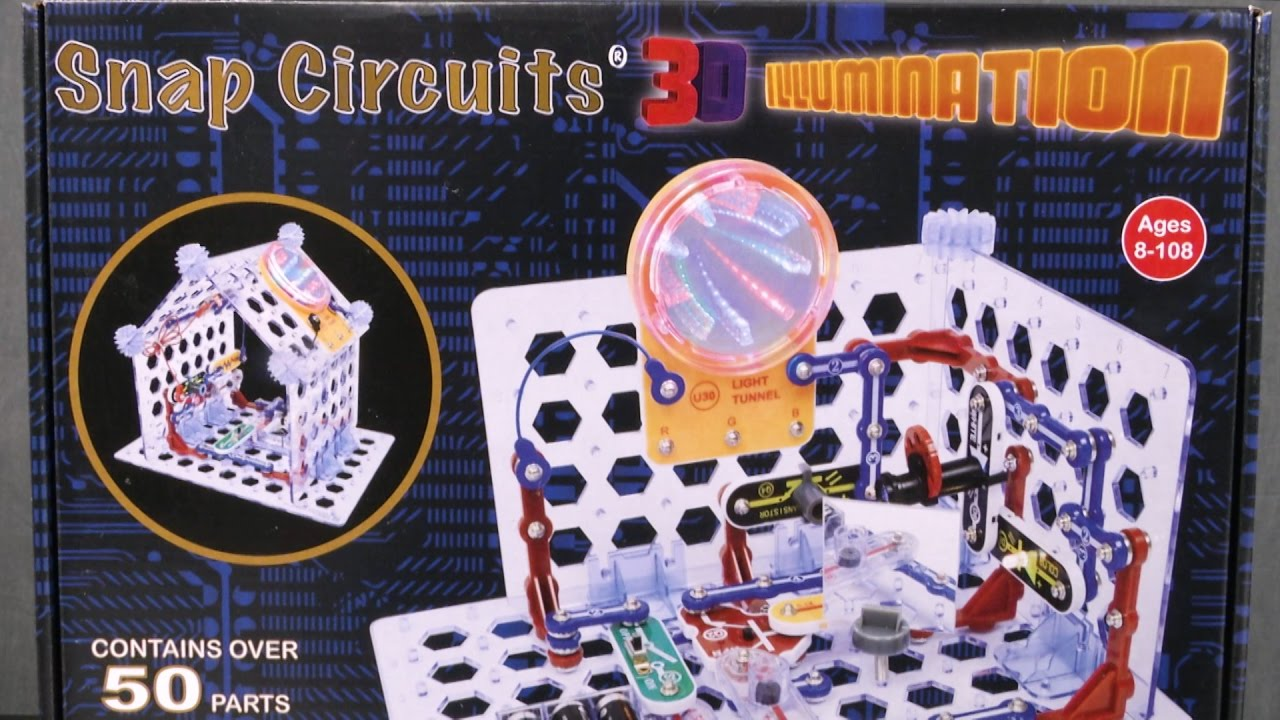 Snap Circuits 3d Illumination From Elenco Youtube What Are