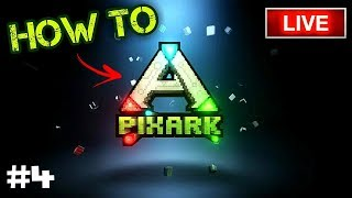 I HATE BRONTOS - How To PixARK SMP - Ep. #4