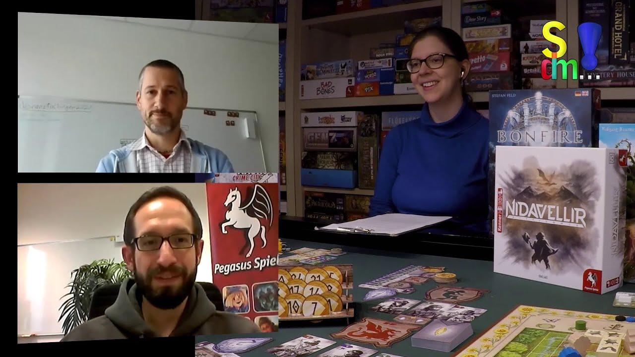 Neuheiten 2020 Pegasus Spiele +++ Peter Berneiser & Klaus Ottmaier im Interview - Spiel doch mal...!