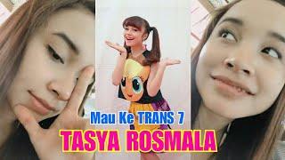 TASYA ROSMALA ke Jakarta ada acara di TRANS 7
