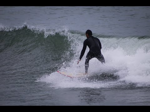 Surfing Ventura Point 4-6FT