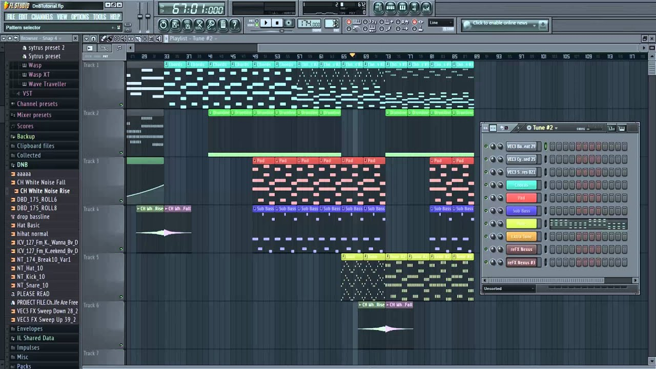 how to add bass to a song fl studio