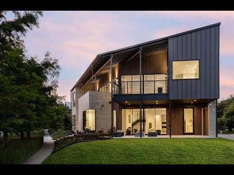 Striking Modernist Home in Urban Reserve Designed by Marek Architecture and built by Brian Gream, Su