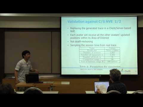 MMSys 2014 - Modelling Avatar Mobility in Networked Virtual Environments