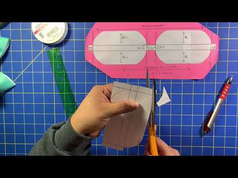 """How to make your own 3"""" inch bow TEMPLATE"""