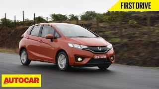 2015 honda jazz   first drive video review   autocar india
