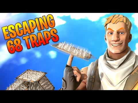 Escaping 68 Traps! Fortnite Funny Moments