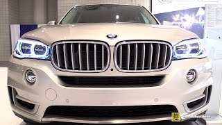 2015 BMW X5 50i xDrive - Exterior and Interior Walkaround - 2015 New York Auto Show