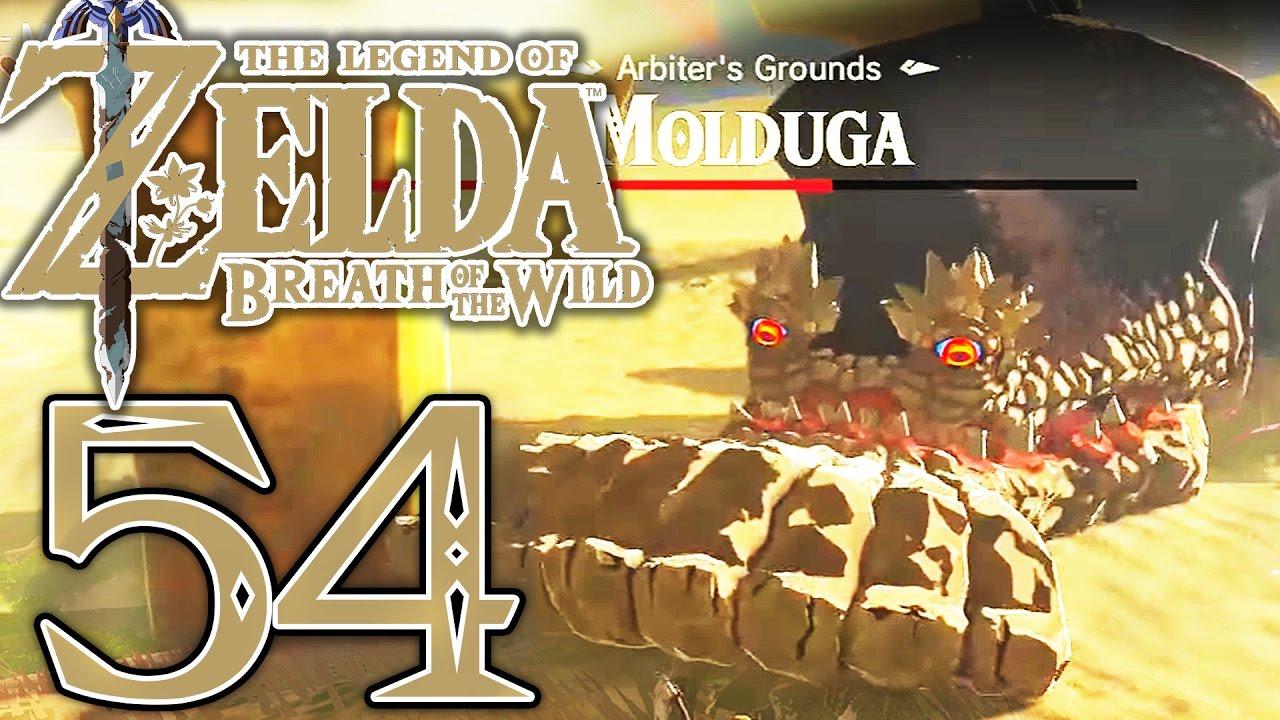 Boss Moldora Schreine Der Gerudo Wuste Zelda Breath Of The