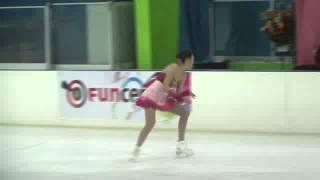 23 Rika HONGO (JPN) - ISU JGP Mexico Cup 2013 Junior Ladies Free Sk...