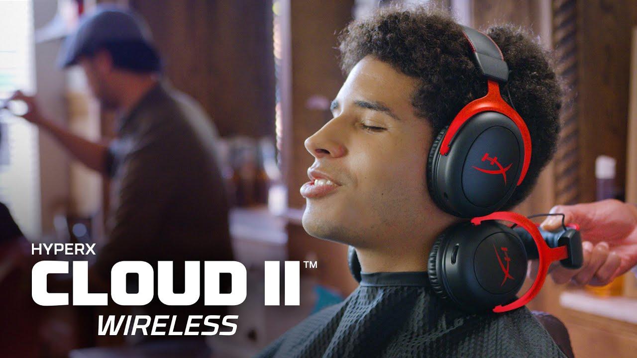 經典舒適 | Cloud II Wireless 無線電競耳機