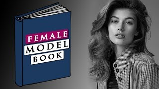 Model Portfolio Example For Girls | PROFESSIONAL MODEL BOOK