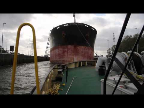 Assisting Bulk Carrier - Lotus Sun