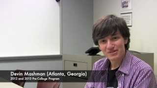 Emory Pre-College Program: Student Discusses Two-Week Courses and Commuting Mp3