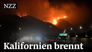 Feuer in Kalifornien: Grossbrände sind ausser Kontrolle