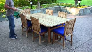 How To Measure For A Outdoor Dining Table Cover