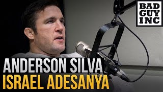 adesanya vs silva highlights