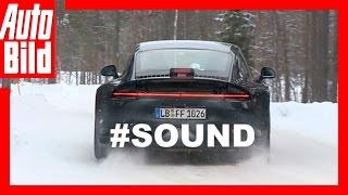 Erlkönig Porsche 911 Sound - So klingt der neue 911er (2019)