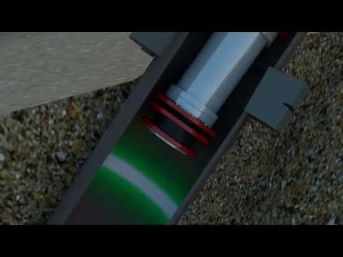 3D animation for Laser Smart Pig (oil and gas industry)