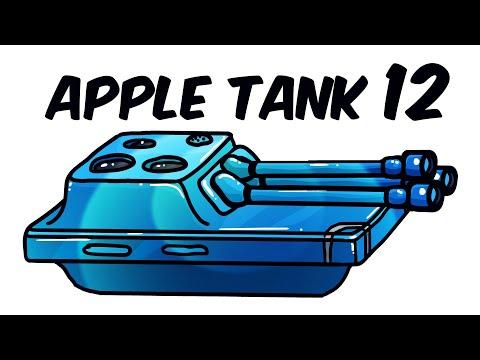 Если бы сделали Apple Танк 12 - Танковая дичь (Анимация)