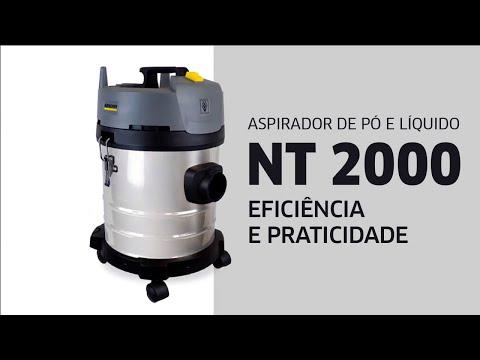 Aspirador NT 2000 Kärcher - Limpeza com eficiência