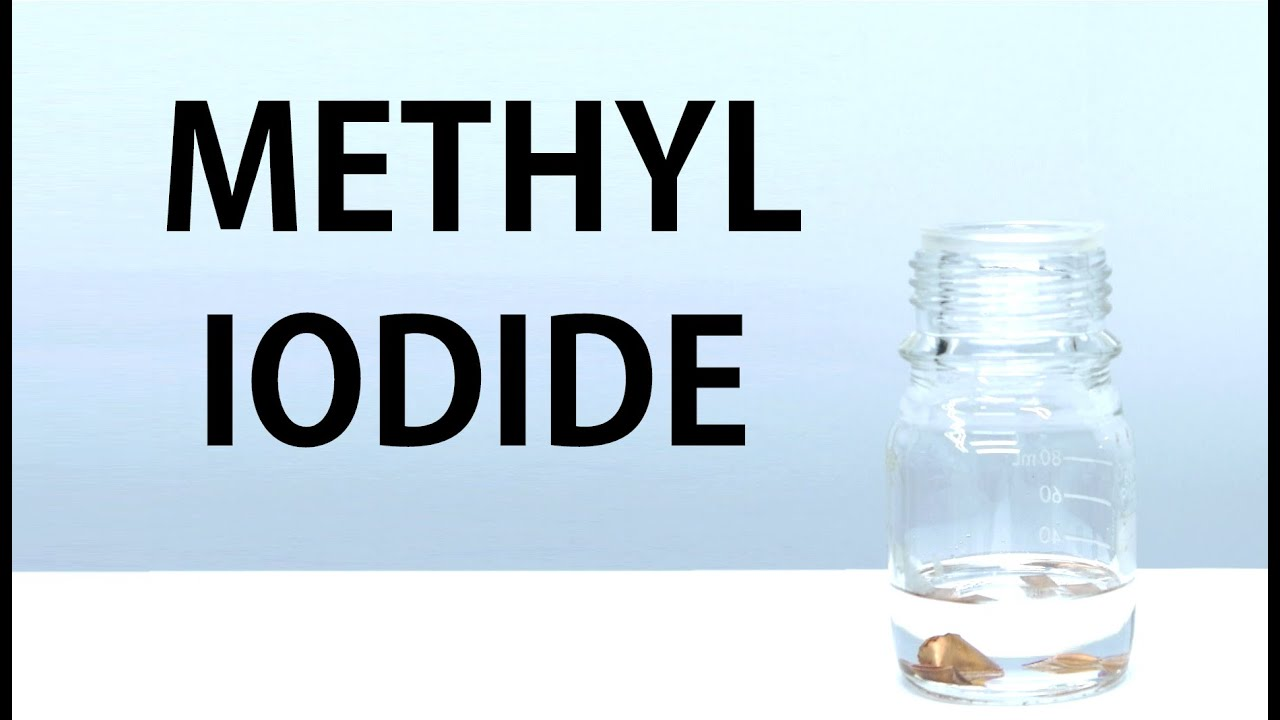 Making Methyl Iodide - YouTube