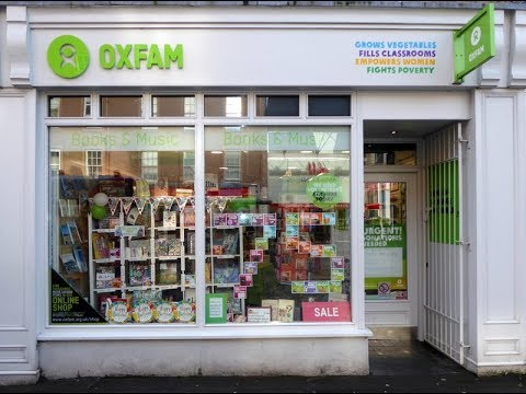 Oxfam Books And Music Shop Perth Perthshire Scotland