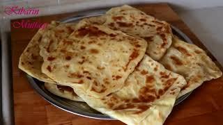 Katmer nasıl yapılır - Tavada tel tel açılan yumuşacık yağlı saç katmer tarifi - Kibarin Mutfagi