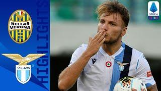 Hellas Verona 1-5 Lazio | Fenomeno Immobile: tripletta nel 5-1 | Serie A TIM