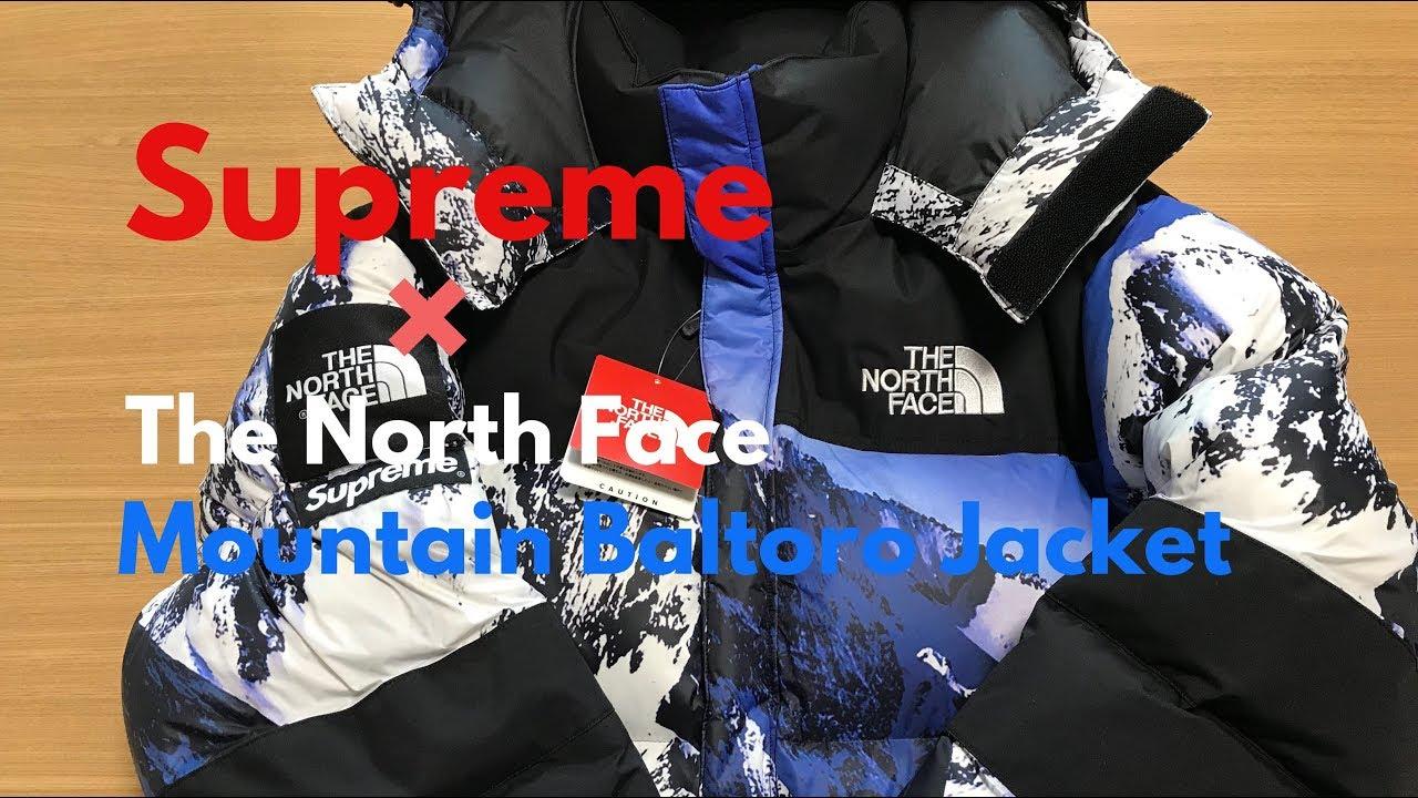 d767cfb6f Supreme × The North Face Mountain Baltoro Jacket 17AW  【シュプリーム】【ノースフェイス】【ストリートファッション】【Box Logo 】