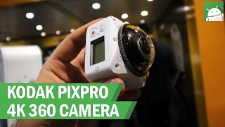Hands-on: KODAK PIXPRO 4K 360 camera