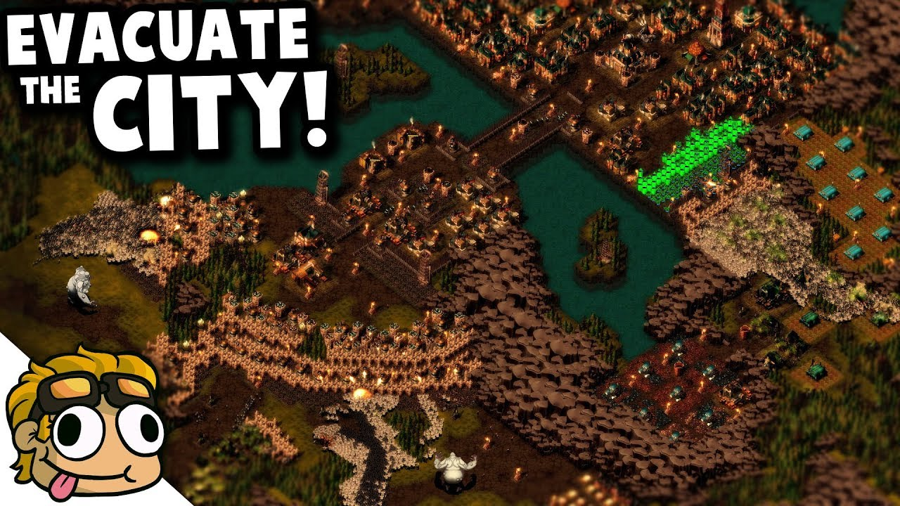 FALL OF NEW MANCHESTER, CUSTOM CAMPAIGN MAP! | They Are Billions Gameplay