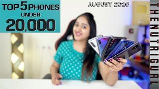 Top 5 Phones Under 20000 In AUGUST 2020