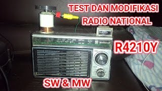 Gambar cover TEST RADIO NATIONAL R4210Y