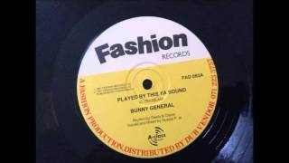 Bunny General - Played By This Ya Sound ( Billie Jean Riddim )